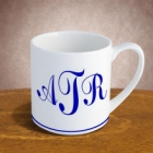 Ceramic Customized Monogram 12 oz Mug