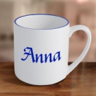 Personalized 12 oz Coffee Mug