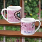 Flavias Personalized Valentines Day Mug