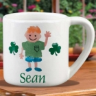 Personalized 8 Ounce Irish Kids Mugs