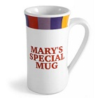 Personalized Sonoma Rainbow Irish Coffee Mugs