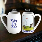 Gary Patterson's Personalized Golfer's Stein