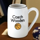 Personalized Basketball 22 oz. Ceramic Beer Steins