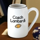 Personalized Football 22 oz. Beer Stein