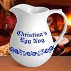 Personalized 2½ Quart Thanksgiving Pitchers