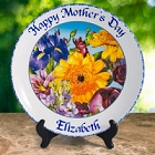 "Personalized Joel Veach 13"" Keepsake Bouquet Plate"