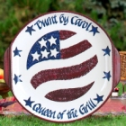 Personalized Patriotic Stoneware