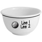 Personalized Golf Icon 1 Quart Snack Bowl