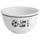 Personalized Soccer Icon 1 Quart Ceramic Snack Bowl