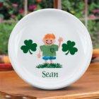 Personalized Irish Kids Plates