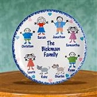 Personalized Family Heirloom Plate