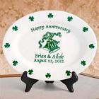 Personalized Irish Anniversary Plates
