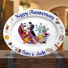 Personalized Oval Dancers Platter