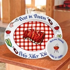 Personalized Barbecue Stoneware