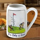 Gary Patterson's It's Only a Game Golf Stein