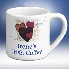 Flavia's Personalized Heart Mug