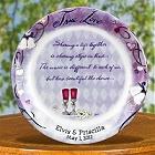 Flavia's Personalized True Love Wedding Plates
