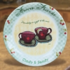Flavia's Personalized Forever Friends Plates