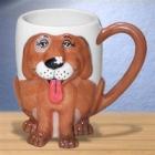 Gary Patterson 3-D Dog Mug
