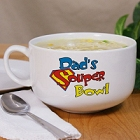 Personalized Ceramic Souper Bowl Soup Bowl with Handle