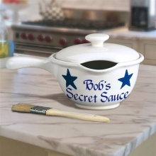 Secret Sauce Personalized Basting Bowls