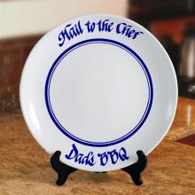 Hail to the Chef Bar-B-Que Serving Platters